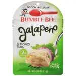 Bumble Bee Tuna and Seafood Products -  Jalapeño Seasoned Tuna Pouch with Spoon