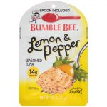 Bumble Bee Tuna and Seafood Products -  Lemon & Pepper Seasoned Tuna Pouch with Spoon