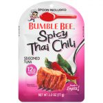 Bumble Bee Tuna and Seafood Products -  Spicy Thai Chili Seasoned Tuna Pouch with Spoon